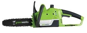 greenworks GT20Vコードレス チェンソー GW-400305 [充電器・バッテリー付き]