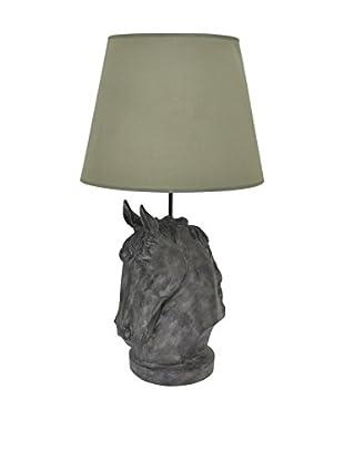 Three Hands Resin Horse Head Lamp