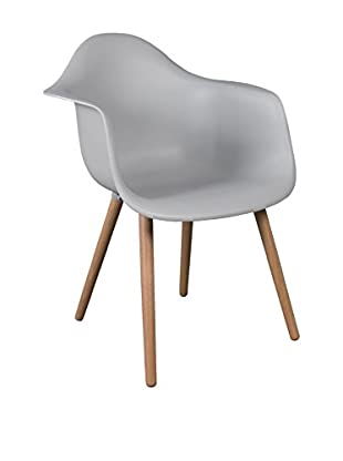 LO+DEMODA Set Silla 2 Uds. Dimero Simple Legs Blanco Roto
