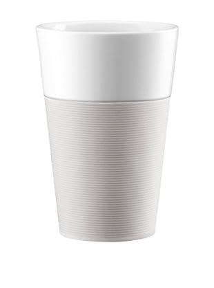 Bodum Kaffeetasse 2er Set Bistro 0.6 L creme/weiß
