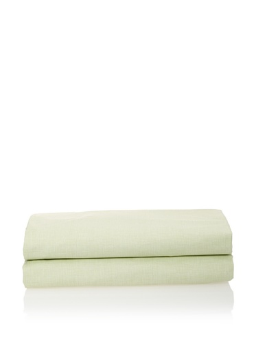 Org Hum Fitted Sheet (Celery)