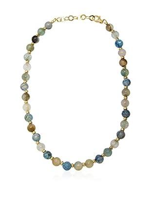 ETRUSCA Halskette 51 cm blau