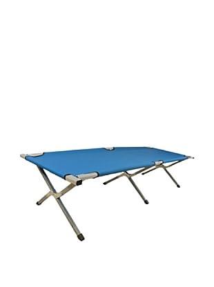 BN Cama Plegable Azul 63 x 182 x 44 cm