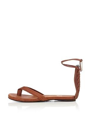 Fiel Women's Malvina Corset Sandal (Cognac/Ice Blue)