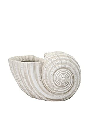 Harbor Shell Planter, White