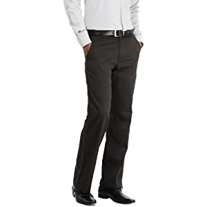 Basics Trendy Casual Grey Colored Trousers for Men