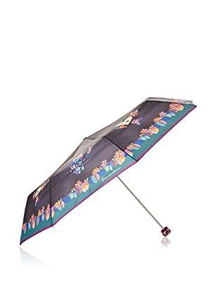 Braccialini Paraguas Negro / Verde Agua