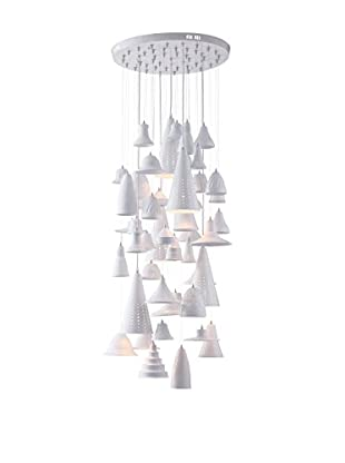 Zuo Climate Ceiling Lamp, White