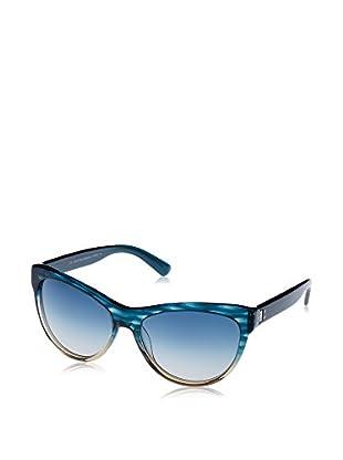 Calvin Klein Gafas de Sol Ck7957S (58 mm) Azul / Transparente