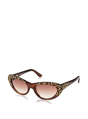 Ferragamo Sonnenbrille 625SR0_216 (53 mm) braun
