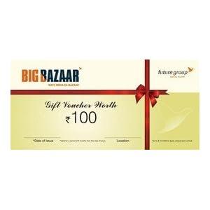 Big Bazaar Gift Voucher 100