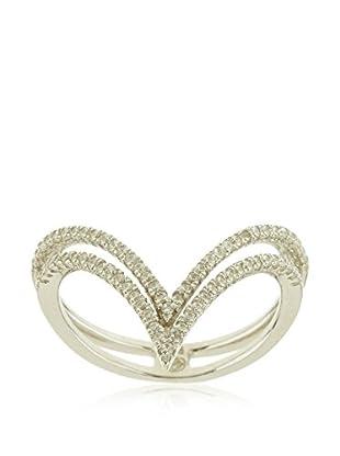 ANDREA BELLINI Ring Double Triangle