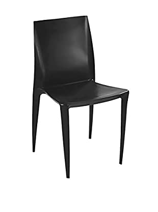 Manhattan Living Square Dining Chair, Black