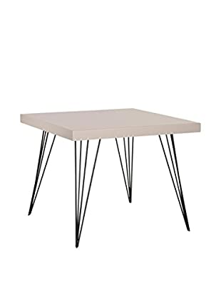 Safavieh Wolcott Square Coffee Table, Grey/Black