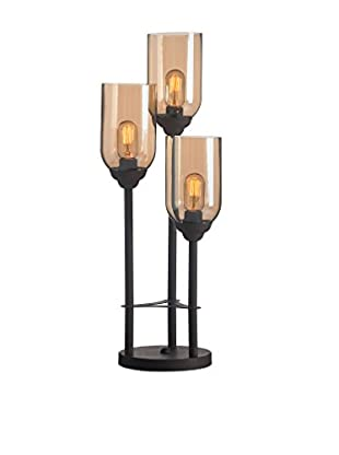 Zuo Jump Table Lamp, Rust/Amber