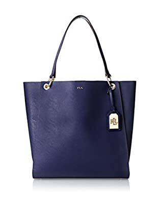 LAUREN Ralph Lauren Women's Aiden North/South Tote, Deep Wisteria