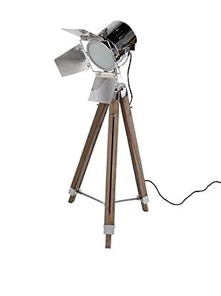 Only Deco Bodenlampe natur/silberfarben