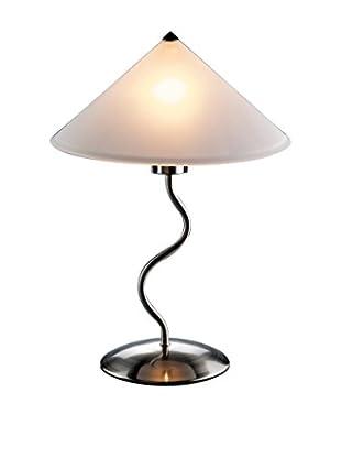 LumiSource Doe Li™ Touch Lamp, Brushed Satin