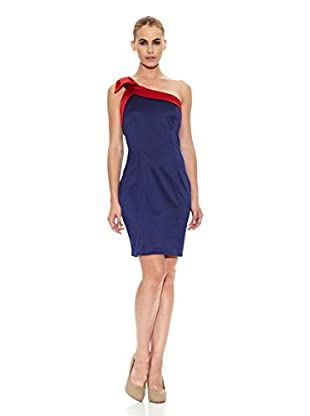 Barbarella Vestido Romane (Azul)