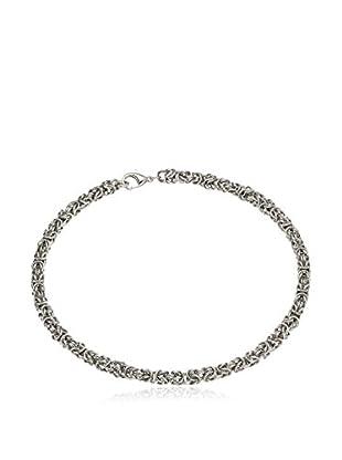 Steel Art Halskette silberfarben