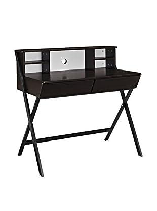 Modway Trove Office Desk, Dark Walnut