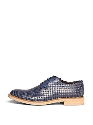 British Passport Zapatos Plain (Azul)