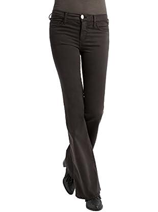 BDBA Pants, Pantalones para Mujer, Charcoal, 36