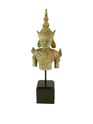 Asian Loft Bronze Thailand Buddha