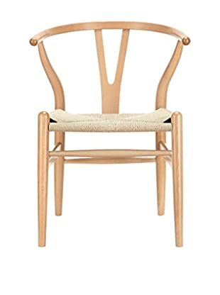 Modway Amish Wooden Dining Arm Chair, Natural