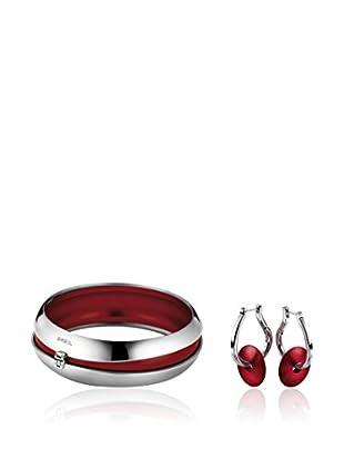 Breil Conjunto de brazalete y pendientes Secretly - 6 cm