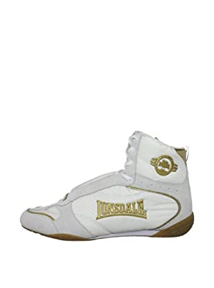 Lonsdale Botas Rapid Trainer (Blanco / Oro)