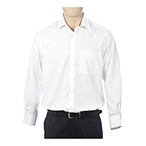 Peter England Rsv3400 Formal Shirts-White