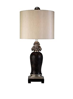 ORE International Sobek 1-Light Table Lamp, Espresso