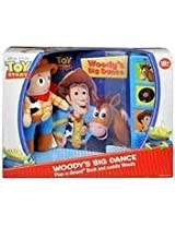 Toy Story Woodys Big Dance Play A Sound Book And Cuddly Woody By Disney