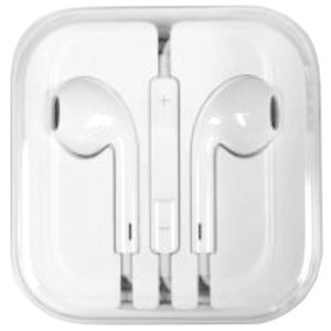 Apple iPhone 5 Style Stereo Headphone EarPods with Remote and Mic