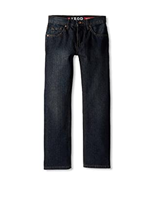 IZOD Boy's 5-Pocket Slim Straight Jean