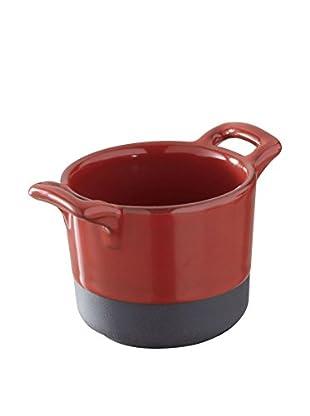 Revol Mini Stew Pot, Red/Black