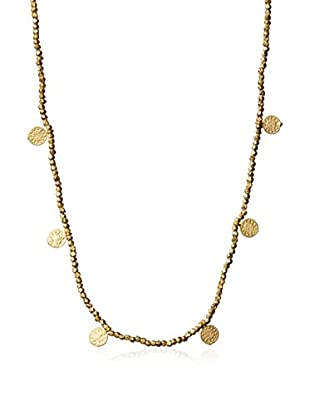 Electric Picks Gold Mine Charms Necklace