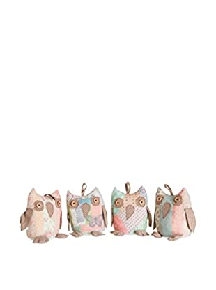 Set Tope Para Puerta 4 Uds. Owls