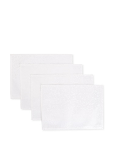 Lenox Set of 4 Opal Innocence Placemats (White)