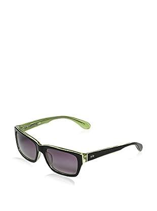 La Martina Sonnenbrille LM-50603 schwarz/grün