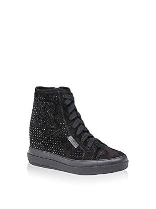 Ruco Line Sneaker Zeppa 4903 Rock Suede