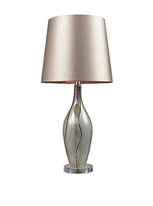 Artistic Lighting Etna Ceramic Table Lamp, Painted Ribbon