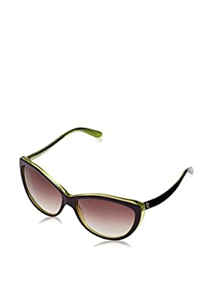 Alexander McQueen Gafas de Sol AMQ4147/S (61 mm) Morado / Verde