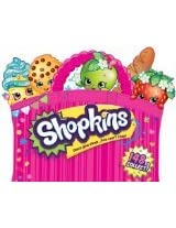 2014 - SHOPKINS FIGURES STARTER PLAYSET (Featuring 25 Different Shopkins Figures & 10 Bags)