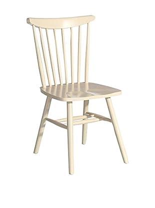 Chateau chic Stuhl naturweiß