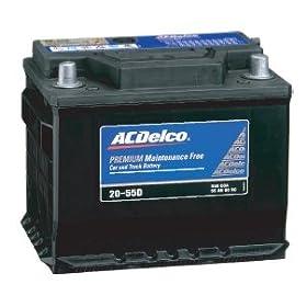 【クリックで詳細表示】ACDelco [ エーシーデルコ ] 輸入車バッテリー [ Maintenance Free Battery ] 27-63H: カー&バイク用品