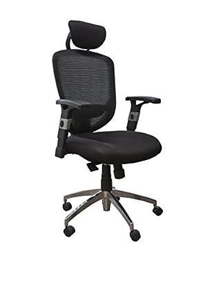 Office Ideas Bürostuhl Lawyer 22 schwarz 63,5 x 65 x 120/132H cm