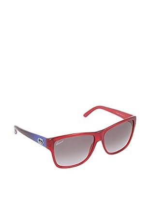 Gucci Sonnenbrille 3579/SYEL53 rot / blau 58 mm