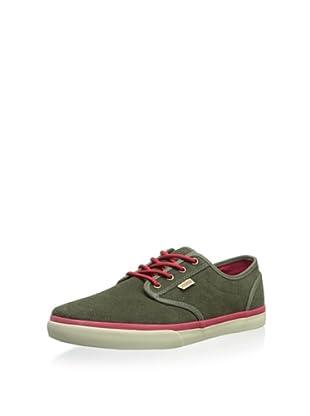DVS Men's Rico CT Skate Shoe (Green Suede FA 13)